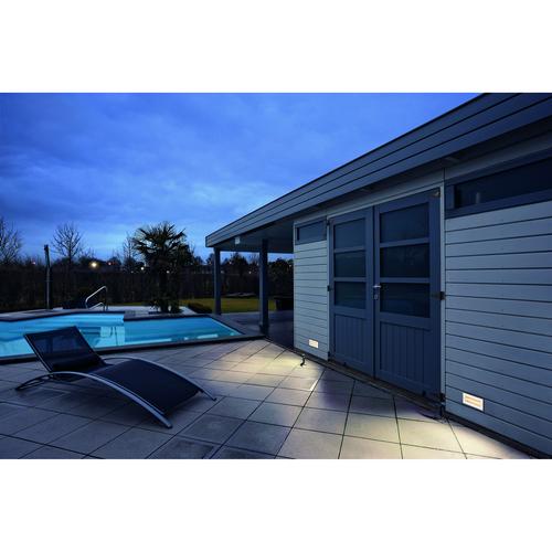 Marbel 233650 SLV BRICK SYMETRIC светильник встраиваемый IP65 11Вт с LED 3000К, 950лм, 40°, сталь