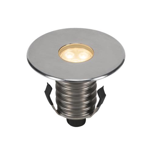 Marbel 233672 SLV DASAR® 100 PREMIUM ROUND светильник встраиваемый IP67 5.5Вт c LED 3000К, 300лм, 24°, Al,