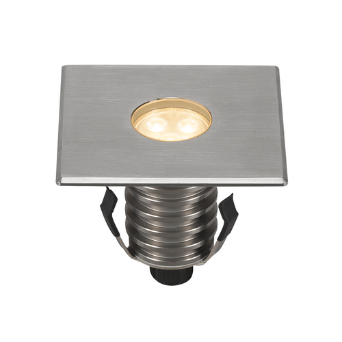 Marbel 233692 SLV DASAR® 100 PREMIUM SQUARE светильник встраиваемый IP67 5.5Вт c LED 3000К, 300лм, 24°, Al,