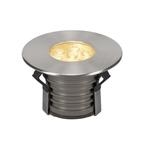 Marbel 233712 SLV DASAR® 150 PREMIUM ROUND светильник встраиваемый IP67 17Вт c LED 3000К, 1200лм, 30°, Al,