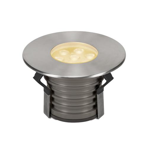 Marbel 233716 SLV DASAR® 150 PREMIUM ROUND светильник встраиваемый IP67 17Вт c LED 3000К, 1200лм, 60°, Al,