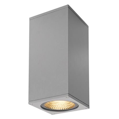 Marbel 234514 SLV BIG THEO LED BEAM светильник настенный IP44 29Вт с LED 3000К, 130лм+2000лм, 2°+24°, сереб