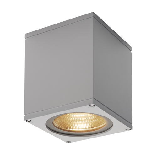 Marbel 234524 SLV BIG THEO LED WL светильник настенный IP44 21Вт с LED 3000К, 2000лм, 24°, серебристый