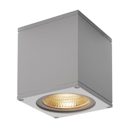 Marbel 234534 SLV BIG THEO LED CL светильник потолочный IP44 21Вт с LED 3000К, 2000лм, 24°, серебристый