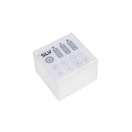 Marbel 470670 SLV COLOR CONTROL, контроллер настенный 100-240В, 2Вт, накладной или встроенный монтаж, белый