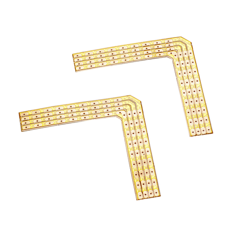 Marbel 552653 SLV FLEXSTRIP LED RGB, паяльные уголки 90° для ленты 10мм, 2 шт.