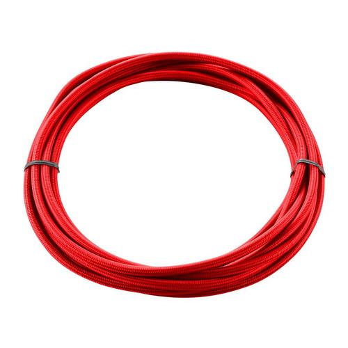 Marbel 961376 SLV КАБЕЛЬ 3х 0,75 кв.мм, 5 м, H03W-F, в текстильной оплетке, диам. 6мм, красный