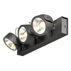 1000131 SLV KALU 3 LED светильник накладной 47Вт с LED 3000К, 3000лм, 3х 60°, черный