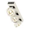 1000132 SLV KALU 3 LED светильник накладной 47Вт с LED 3000К, 3000лм, 3х 60°, белый/ черный