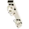 1000138 SLV KALU 4 LONG LED светильник накладной 60Вт с LED 3000К, 4000лм, 4х 60°, белый/ черный