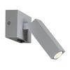 1000326 SLV STIX светильник накладной 4.5Вт с выключателем и LED 3000К, 185лм, 30°, серебристый (ex