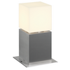 1000344 SQUARE POLE 30 светильник ландшафтный IP44 для лампы E27 20Вт макс., сталь/ белый (ex 232236) SLV by Marbel