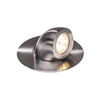 1000384 GIMBLE OUT светильник встраиваемый IP67 13Вт с LED 3000К, 1000лм, 36°, сталь SLV by Marbel