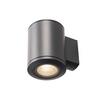 1000448 SLV POLE PARC WL светильник настенный IP44 28Вт c LED 3000K, 2900лм, 36°, черный
