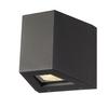 1000588 SLV OUT BEAM QT-DE12 светильник настенный IP44 для лампы R7s 78мм 80Вт макс., 70°+2°, антрац