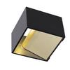 1000638 SLV LOGS IN Dim to Warm светильник настенный 12Вт с LED 2000-3000K, 290лм, черный/ латунь