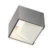 1000640 SLV LOGS IN Dim to Warm светильник настенный 12Вт с LED 2000-3000K, 490лм, матированный алюм