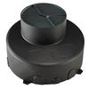 1000655 DASAR® 180 PREMIUM/ GIMBLE OUT, корпус монтажный, встраиваемый в грунт, черный SLV by Marbel