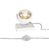 1000723 SLV KALU FLOOR 1 QPAR111 светильник напольный для лампы ES111 75Вт макс., белый