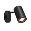 1000729 SLV ENOLA_B SINGLE SPOT светильник накладной для лампы GU10 50Вт макс., с выключателем, черн