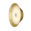 1000745 BATO 35 LED CW светильник накладной 15Вт с LED 2500К, 1050лм, 100°, латунь SLV by Marbel