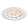 1000833 SLV KINI светильник встраиваемый поворотный IP65 12Вт c LED 3000К, 850лм, 60°, белый