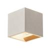 1000910 SLV SOLID CUBE светильник настенный для лампы QT14 G9 25Вт макс., серый бетон