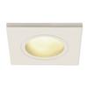 1001161 SLV DOLIX OUT SQUARE MR16 светильник встраиваемый IP65 12В для лампы MR16 50Вт макс., белый