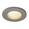 1001167 DOLIX OUT ROUND GU10 светильник встраиваемый IP65 для лампы GU10 50Вт макс., серебристый (ex 111024) SLV by Marbel
