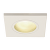 1001169 DOLIX OUT SQUARE GU10 светильник встраиваемый IP65 для лампы GU10 50Вт макс., белый (ex 111141) SLV by Marbel