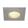 1001172 DOLIX OUT SQUARE GU10 светильник встраиваемый IP65 для лампы GU10 50Вт макс., матовый хром SLV by Marbel