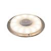 1001359 SLV BIG PLOT светильник накладной IP67 5.5Вт с LED 3000K, 460лм, без накладки, сталь