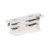 1001381 SLV 3Ph | S-TRACK, коннектор прямой внутренний электрический, 16А макс., белый RAL9016 (ex 1