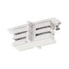 1001382 SLV 3Ph | S-TRACK, коннектор прямой внутренний изолирующий, белый RAL9016 (ex 175081)