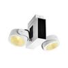 1001432 SLV TEC KALU 2 LED светильник накладной 31Вт с LED 3000К, 1900лм, 2х 24°, белый/ черный