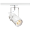 1001486 1PHASE-TRACK, EURO SPOT LED SMALL светильник 11Вт с LED 3000К, 650лм, 36°, белый SLV by Marbel