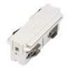 1001516 3Ph | EUTRAC®, коннектор прямой внутренний электрический, белый RAL9016 (ex 145561) SLV by Marbel