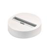 1001526 3Ph | EUTRAC®, основание накладное для светильника с 3Ph-адаптером, 16A макс., белый 9016 (ex145831) SLV by Marbel