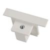 1001538 3Ph | EUTRAC® R, наконечник, белый RAL9016 (ex 145621) SLV by Marbel