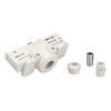 1001542 3Ph | EUTRAC®, адаптер электрический, 10А макс., 5кг макс., белый RAL9016 (ex 145991) SLV by Marbel