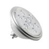 1001568 SLV LED QPAR111 GU10 источник света 230В, 7Вт, 3000K, 730лм, 13°, серебристый корпус