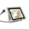 1001638 SLV OUTDOOR BEAM 29 светильник накладной IP65 54Вт с LED 3000К, 5100лм, 100°, серебристый (e