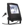 1001642 SLV FLOOD LIGHT 25 светильник IP65 32Вт с LED 5700К, 2350лм, 90°, кабель 2м с вилкой, черный