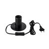1001676 SLV FITU TL светильник настольный для лампы E27 10Вт макс., черный