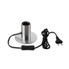 1001678 FITU TL светильник настольный для лампы E27 10Вт макс., алюминий SLV by Marbel