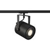 1001860 1PHASE-TRACK, EURO SPOT ES111 светильник для лампы ES111 75Вт макс., черный SLV by Marbel