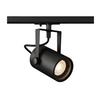 1001861 1PHASE-TRACK, EURO SPOT GU10 светильник для лампы GU10 25Вт макс., черный SLV by Marbel