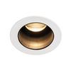 1001926 SLV HORN MEDI LED светильник встраиваемый 350мА 5Вт с LED 3000К, 230лм, 15°, белый/ черный