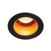 1001927 SLV HORN MEDI LED светильник встраиваемый 350мА 5Вт с LED 3000К, 275лм, 15°, черный/ золотой