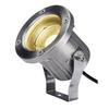 1001962 NAUTILUS 10 SPOT LED светильник IP55 9Вт с LED 3000К, 520лм, 106°, кабель 1.5м с вилкой, сталь SLV by Marbel